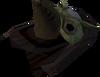 Gas mask detail