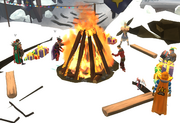 Thok's bonfire
