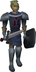 Pillory guard (Draynor Bank Robbery)