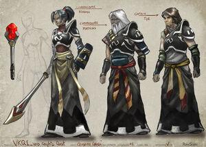 Void knights concept art