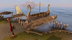 Rellekka docks