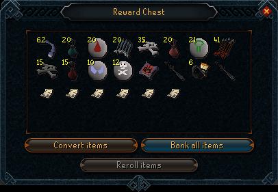 Dominion tower reward chest interface