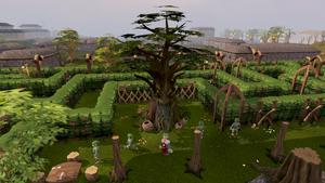 Tree Gnome Village tree