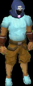 Wildstalker helmet (tier 2) equipped