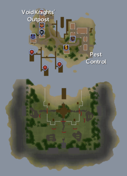 Void Knights' Outpost map