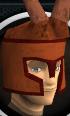 Crab helmet chathead