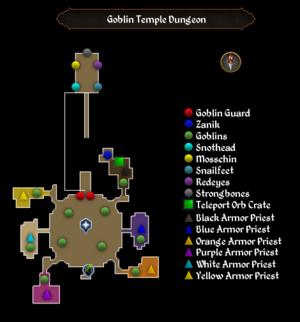 Goblin Temple map