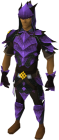 Ancient dragonhide blessed set equipped (male)