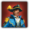 Western Captain's outfit icon (male)