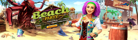 Summer Beach Party 2016 head banner
