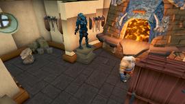 Doric's Hut Smelter & Anvil