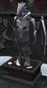 Dragonkin-statue