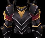 Black platebody (g) detail