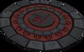 Warped symbol