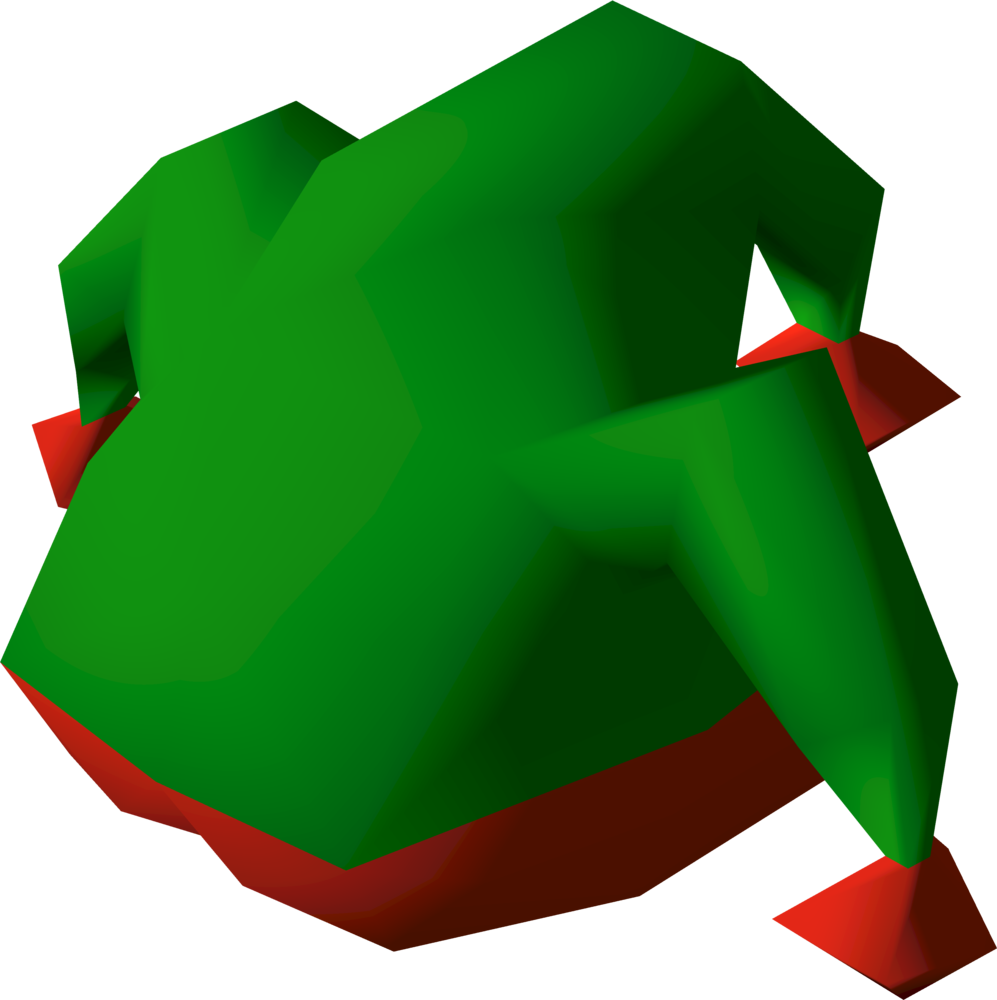 Tri-jester hat detail