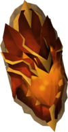 Dragonfire shield (charged) detail