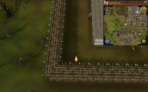Scan clue West Ardougne in corner south of graveyard
