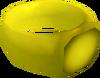 Gold ring detail