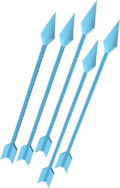 Ice arrows detail