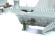 The Temple at Senntisten Damaged wall