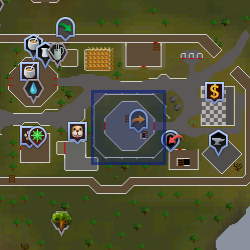 Wizards' Guild location