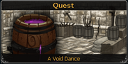 A Void Dance noticeboard