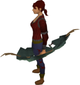 Yew shieldbow equipped
