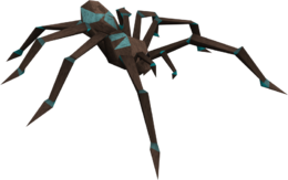 Turquoise spider
