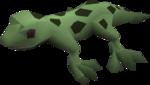 Baby gecko (green) pet