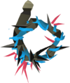 Abyssal vine whip (blue) detail