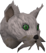Wily cat (white) chathead