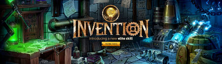 Invention head banner