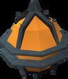 Diminutive bomb detail