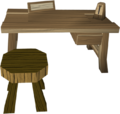 Crafting table 1 built