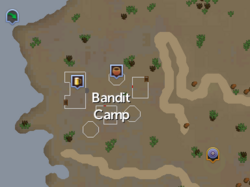 Bandit Camp (Kharidian Desert) map