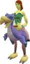 Terrorbird mount (purple) equipped.png