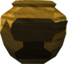 Strong smelting urn (unf) detail