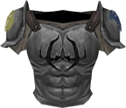Fighter torso detail