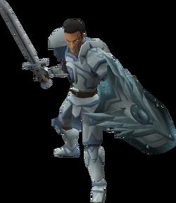 Sir Owen (in combat)
