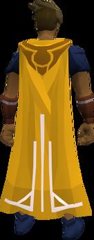 Milestone cape (40) equipped