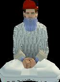 Rug Merchant sitting