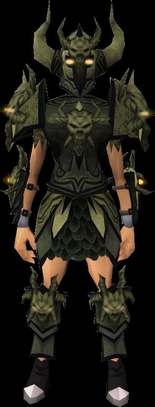 armor set runescape how to open