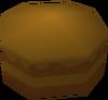 Chocolate cake detail