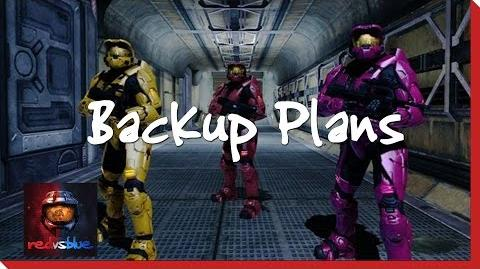 Backup Plans – Chapter 9 – Red vs
