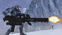 Tex with Heavy Machine Gun