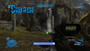 Church firefight