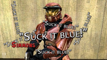 RvB Awards - Best Quote Simmons