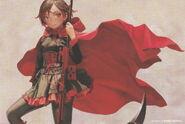 Ruby (RWBY Official Japanese Fanbook, Illustration, Range Murata)