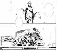Manga 6, Adam and Blake departure