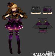HalloweenSetFemale 2010